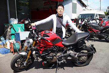 プロ婚バイク写真4