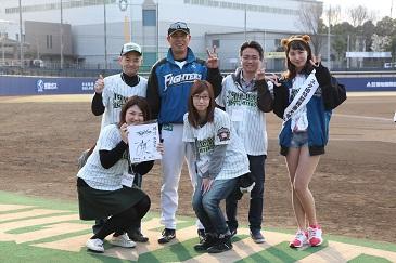 田中幸雄監督とスタッフ