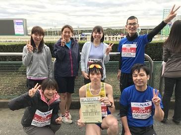 20171111ダートマラソン駅伝婚活オレンジレインボー